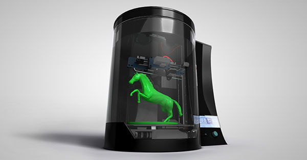 All-in-1 3D scanners and printers