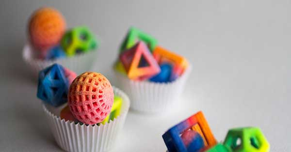 Food 3D printed by Chefjet